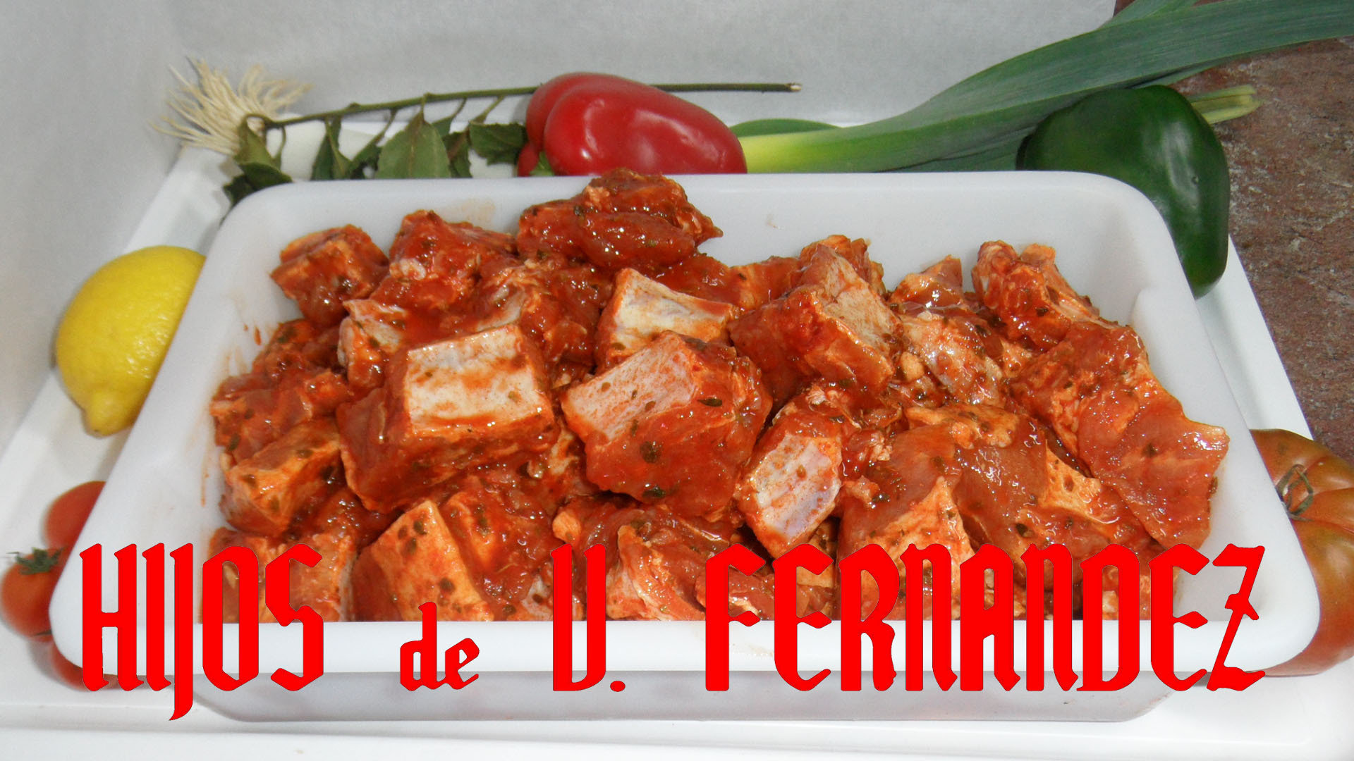 Costillas de Cerdo Adobadas