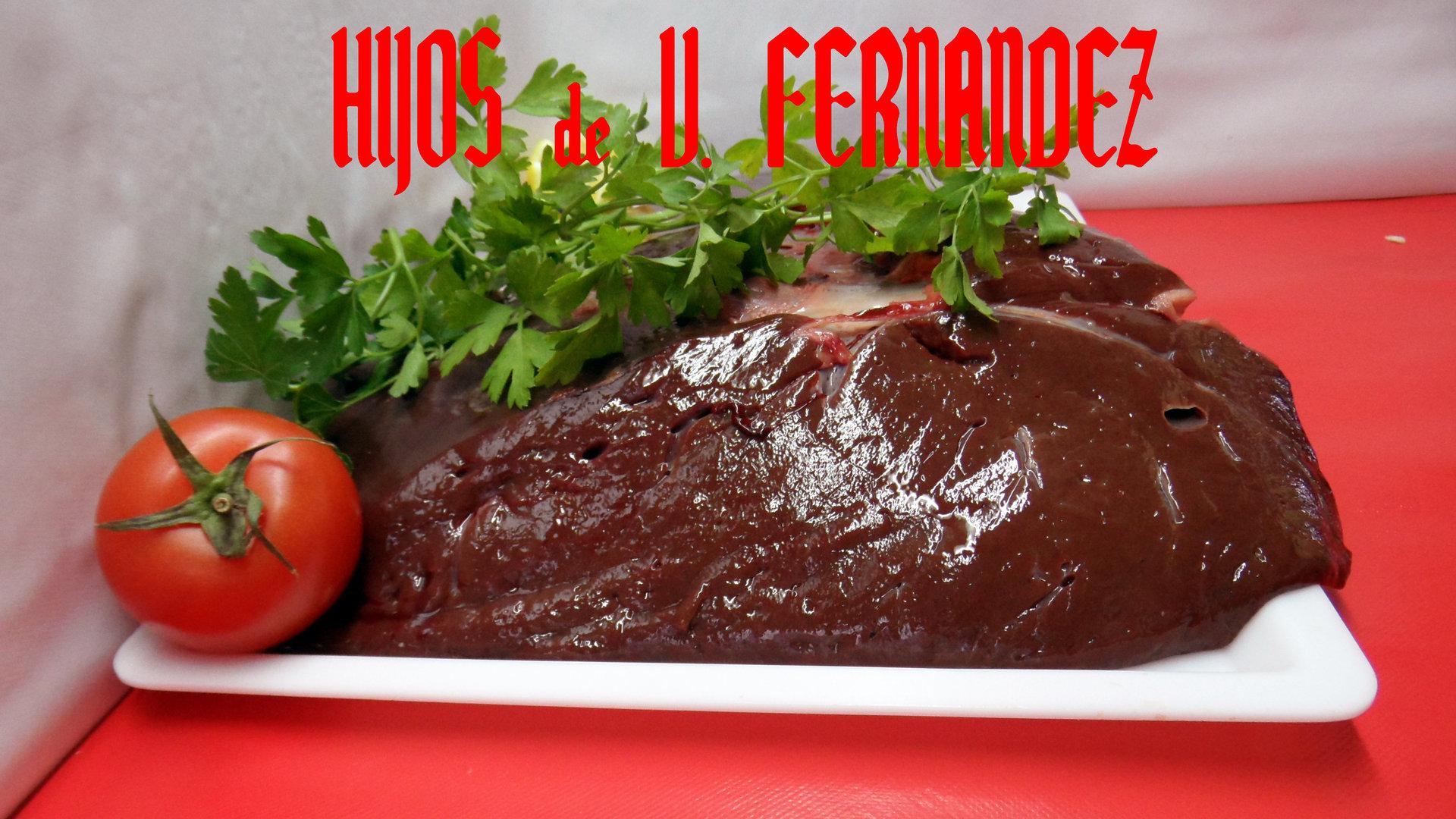 H gado de ternera alimentaci n fernandez mart nez for Cocinar higado de ternera